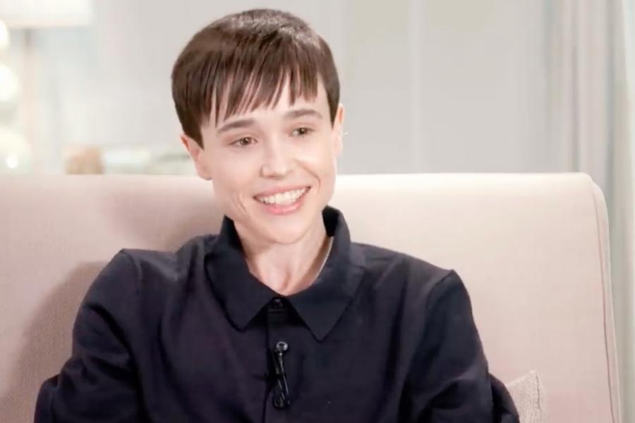 Elliot Page transgender