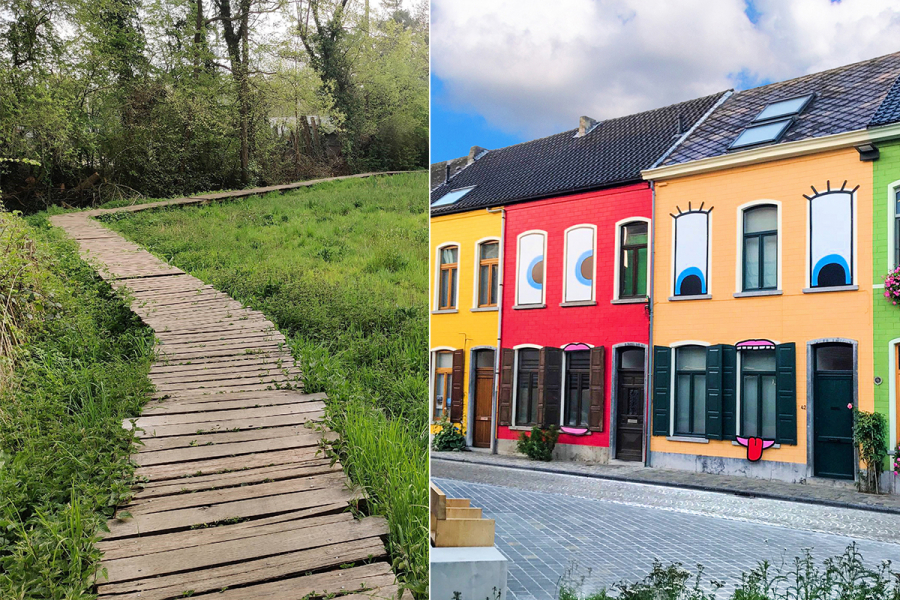 wandelingen België