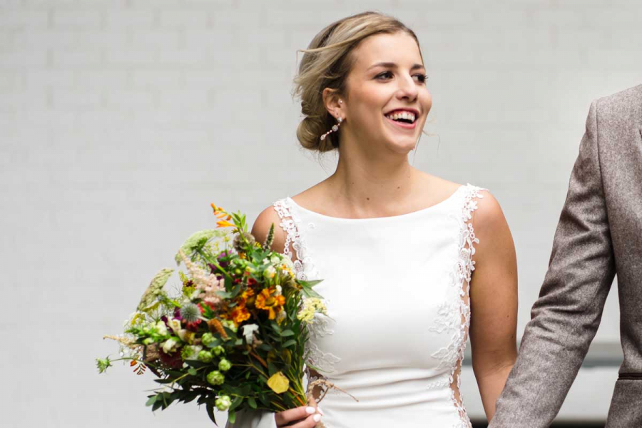 Laura-blind-getrouwd