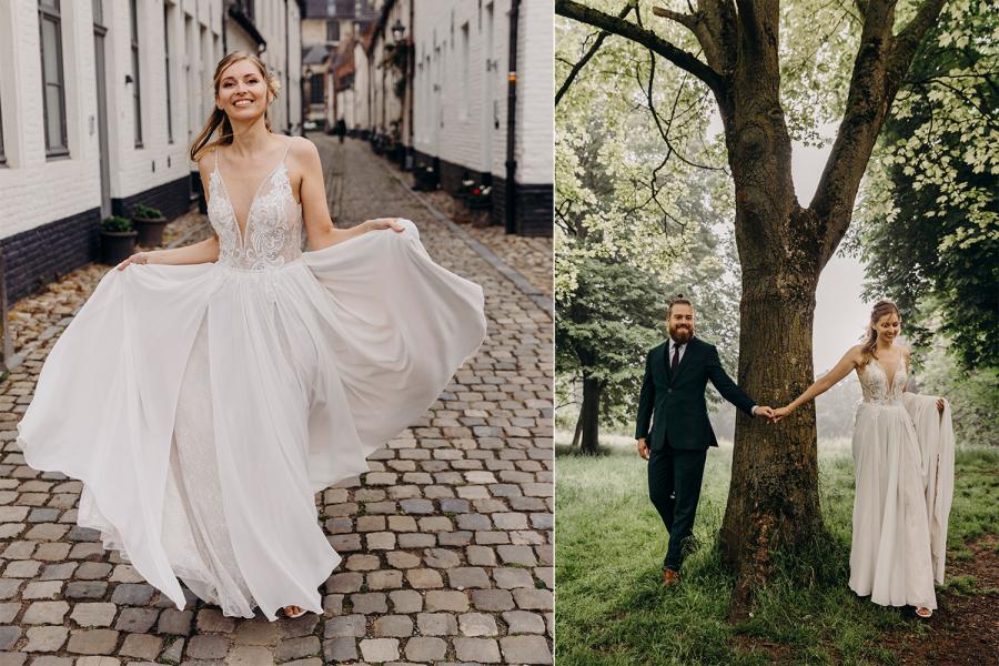 De bruiloft van Esther en Ruben