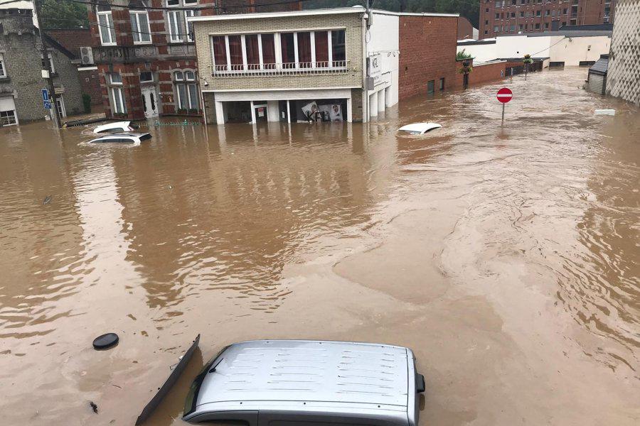 Overstromingen Wallonië