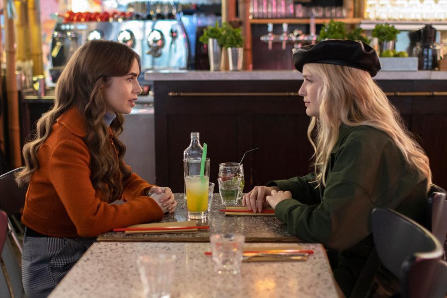 Emily in Paris seizoen 2 Camille