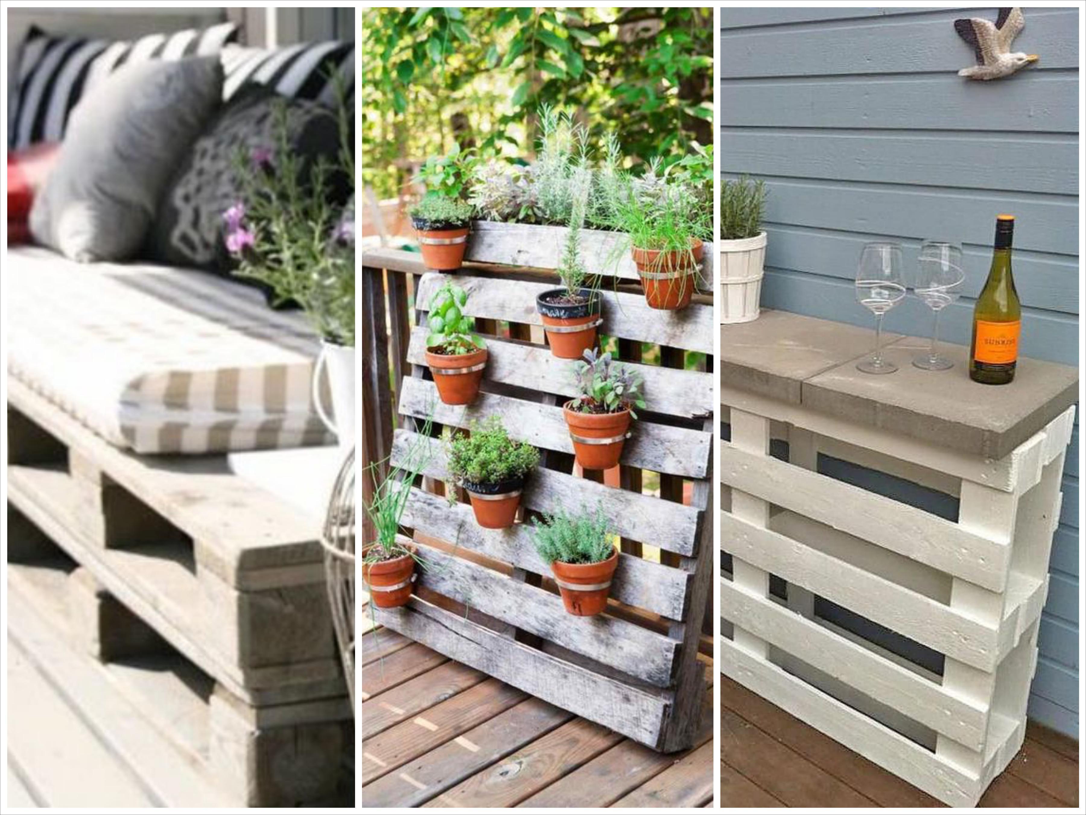 Mur Végétal Extérieur Palette diy: un jardin ou une terrasse 100% recyclé(e)! - gael.be