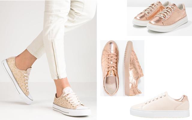 Beauty N Fashion Decatur Ga: Ga Voor Een Fierce Look Met Deze 11 Rosé Gold Sneakers