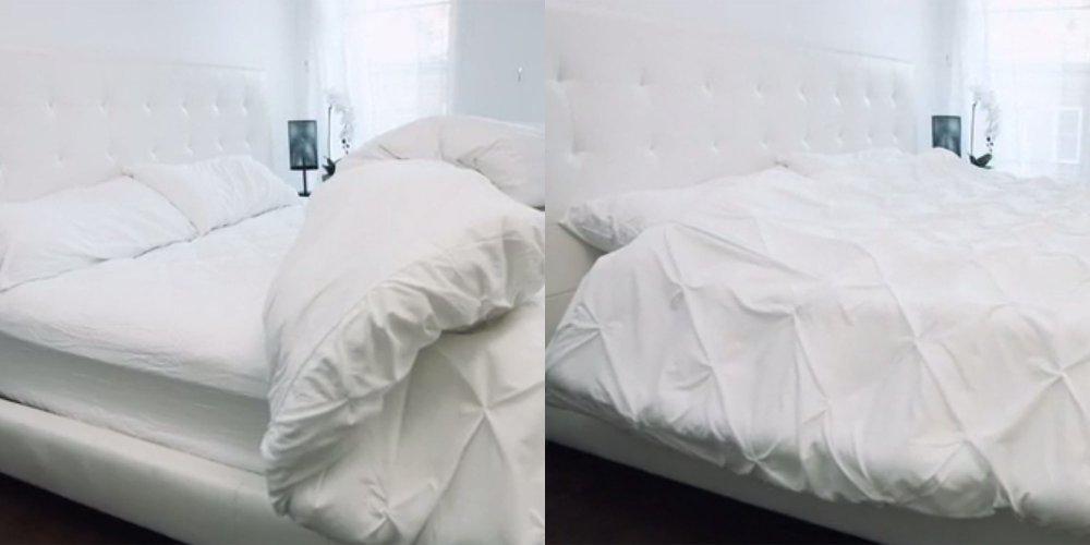 et si votre lit pouvait se faire tout seul. Black Bedroom Furniture Sets. Home Design Ideas