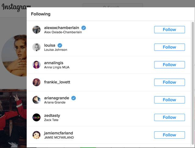 perrie-edwards-instagram-following-list - Fashionista