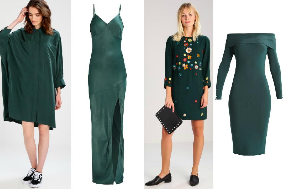 il nous faut une petite robe de couleur vert canard. Black Bedroom Furniture Sets. Home Design Ideas
