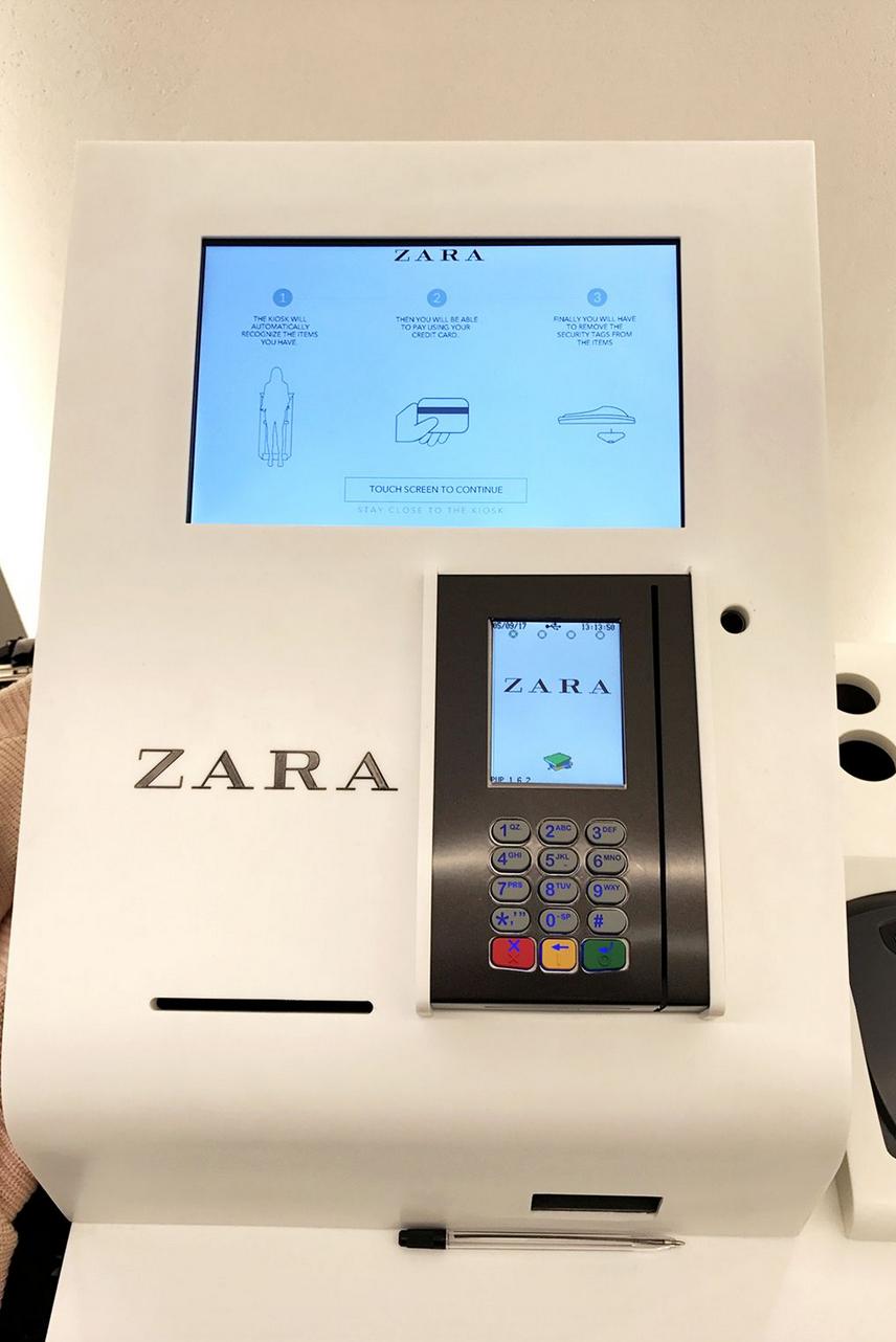 Youpie: la marque Zara facilite votre shopping!