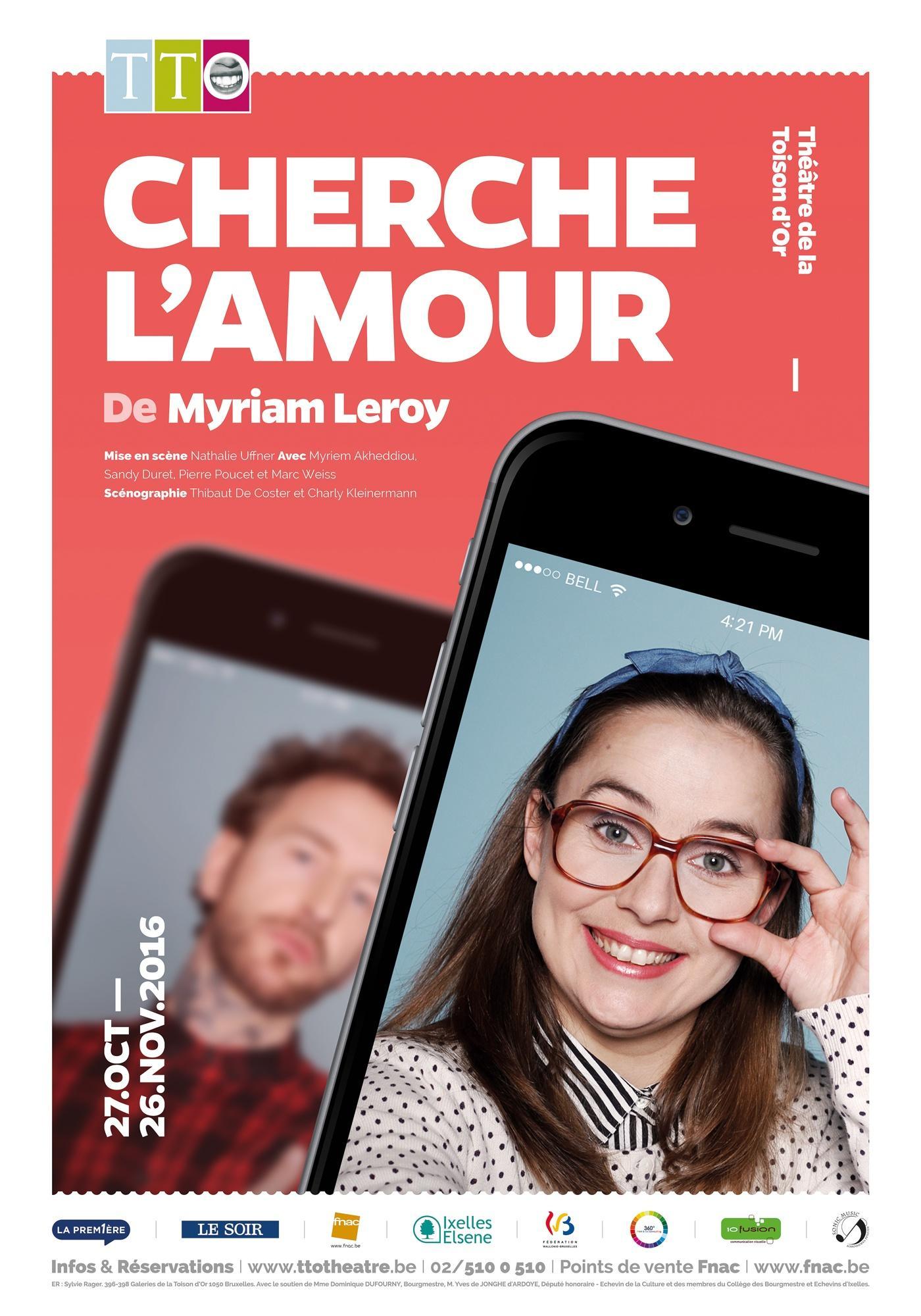Cherche l'amour - Myriam Leroy