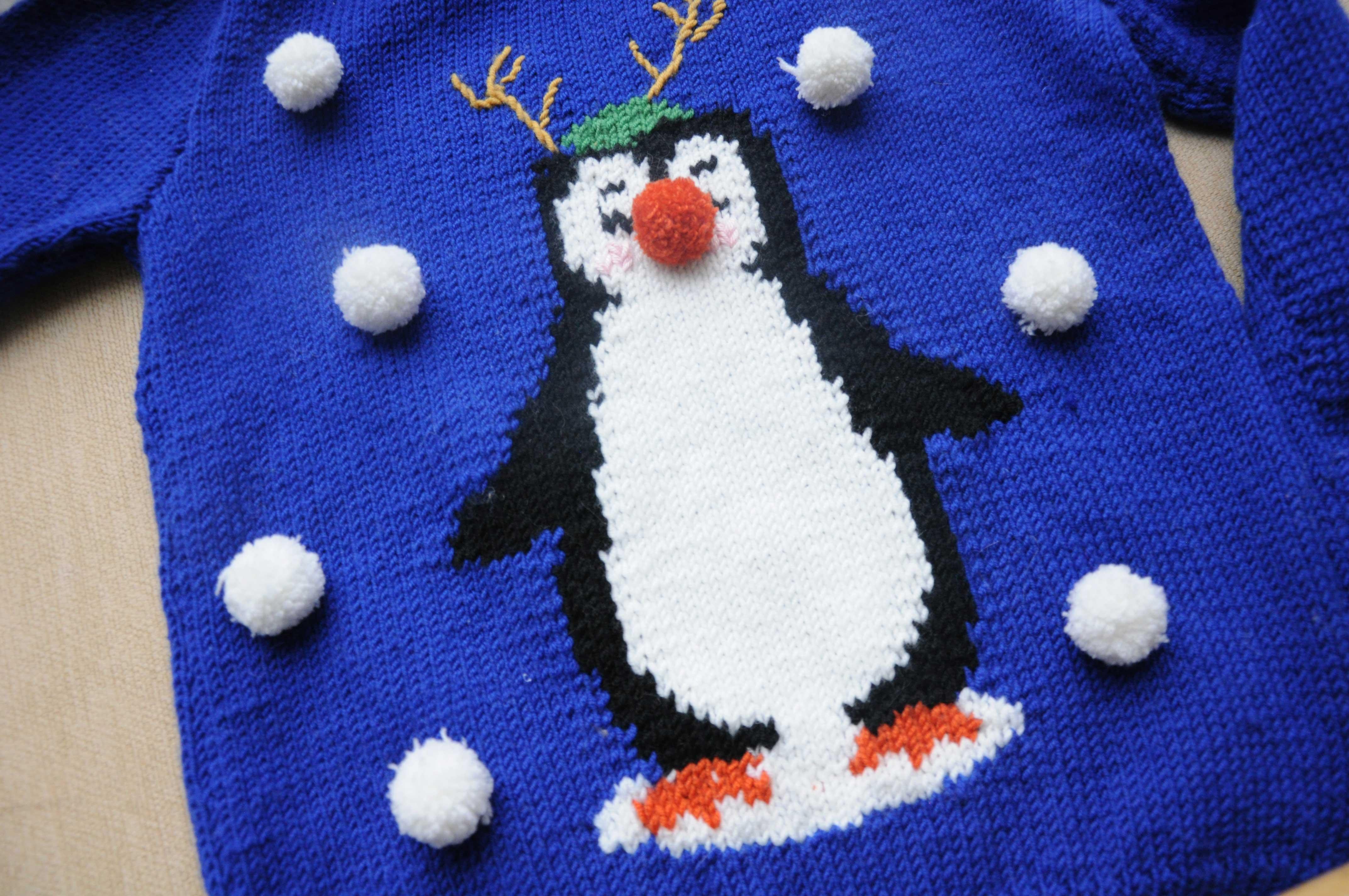 kersttrui-pinguin-rendier