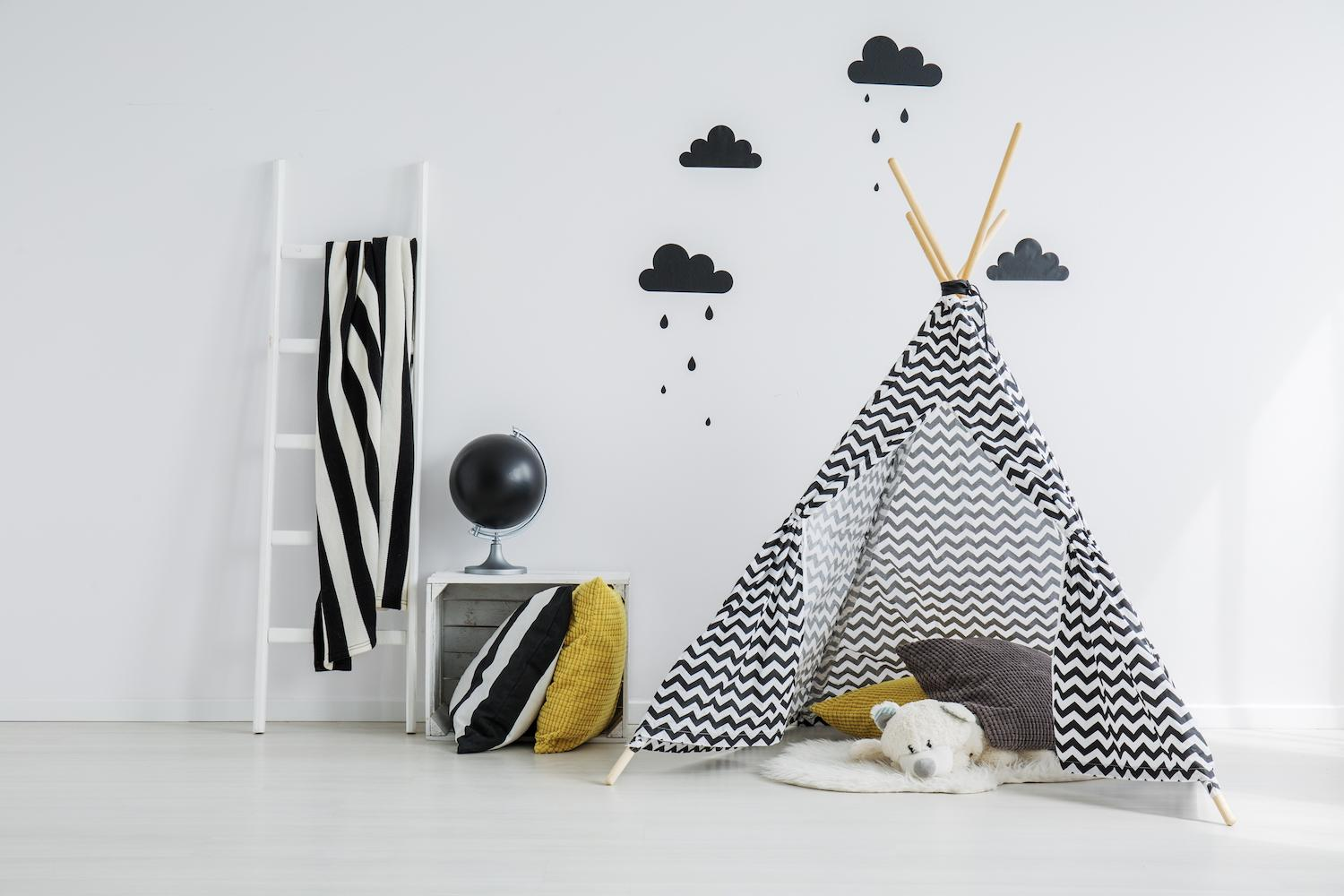 vu sur pinterest comment fabriquer une tente canadienne ou un tipi pour les enfants femmes d. Black Bedroom Furniture Sets. Home Design Ideas