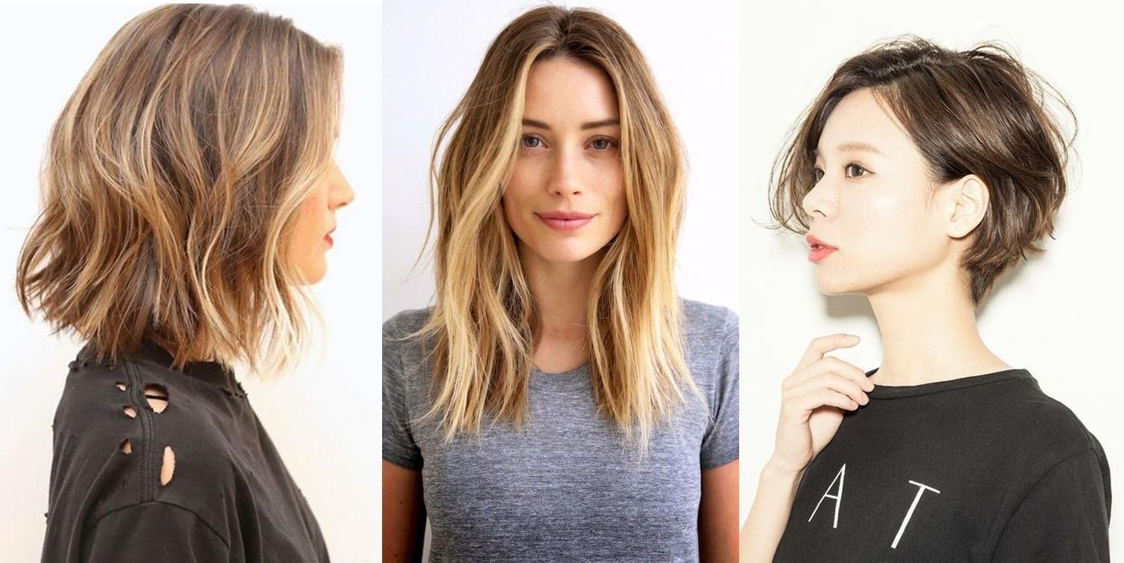Coupe de cheveux courte et ondulee