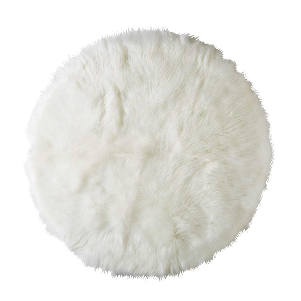 Tapis Long Poil Blanc tapis rose à poils longs - gael.be