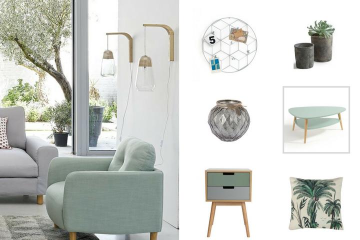 Genoeg Lente-update in je interieur met grijze en groene tinten #DZ97