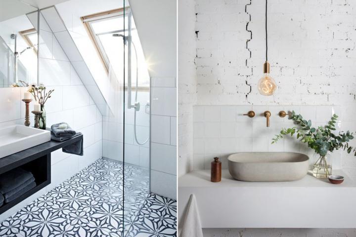 5 tendances d co pour une salle de bain de r ve. Black Bedroom Furniture Sets. Home Design Ideas
