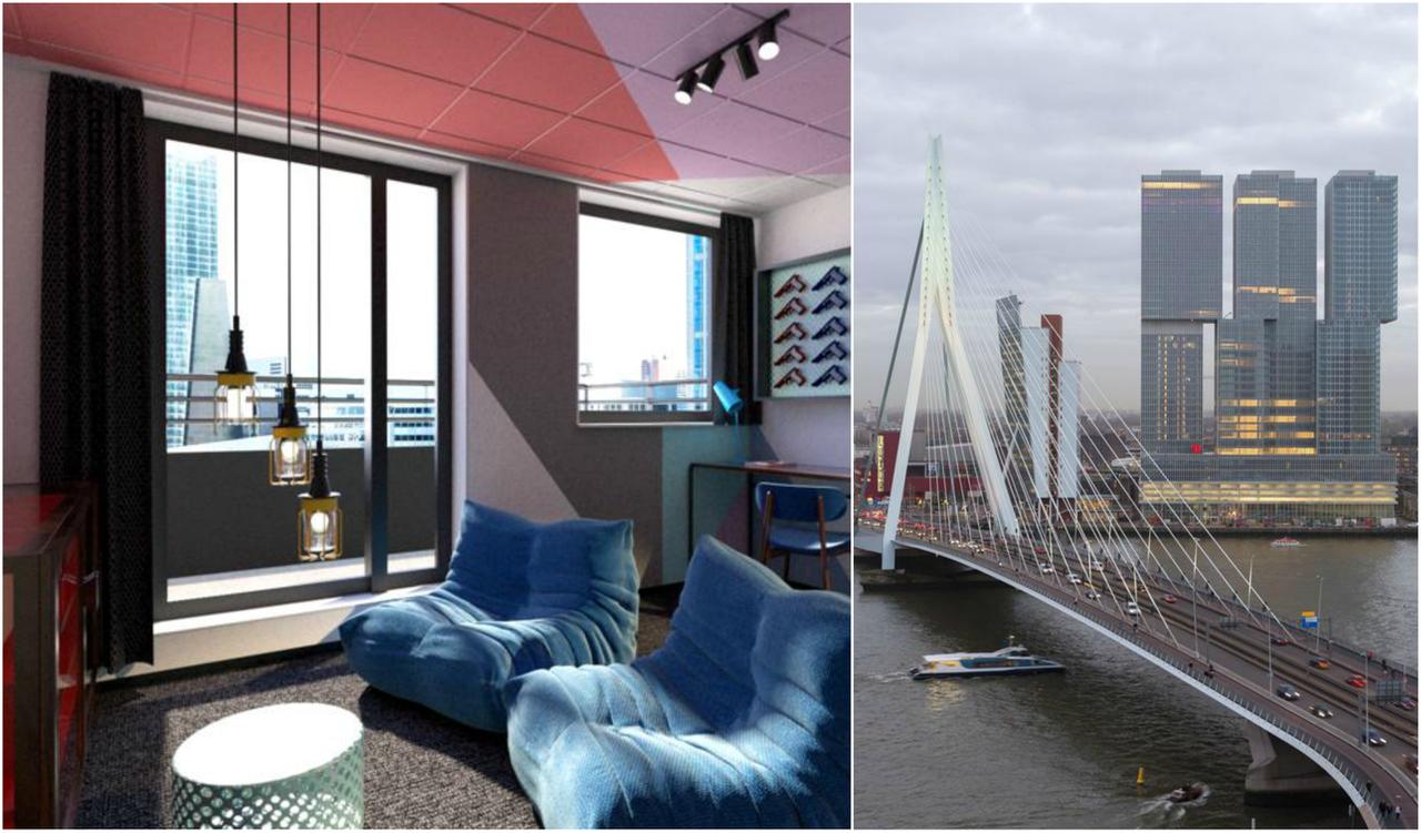 11 van de leukste hotels in Rotterdam voor een geslaagd ...