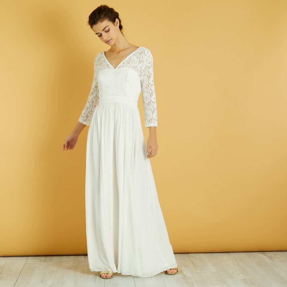 Robe de mariée Kiabi - Femmes d'Aujourd'hui