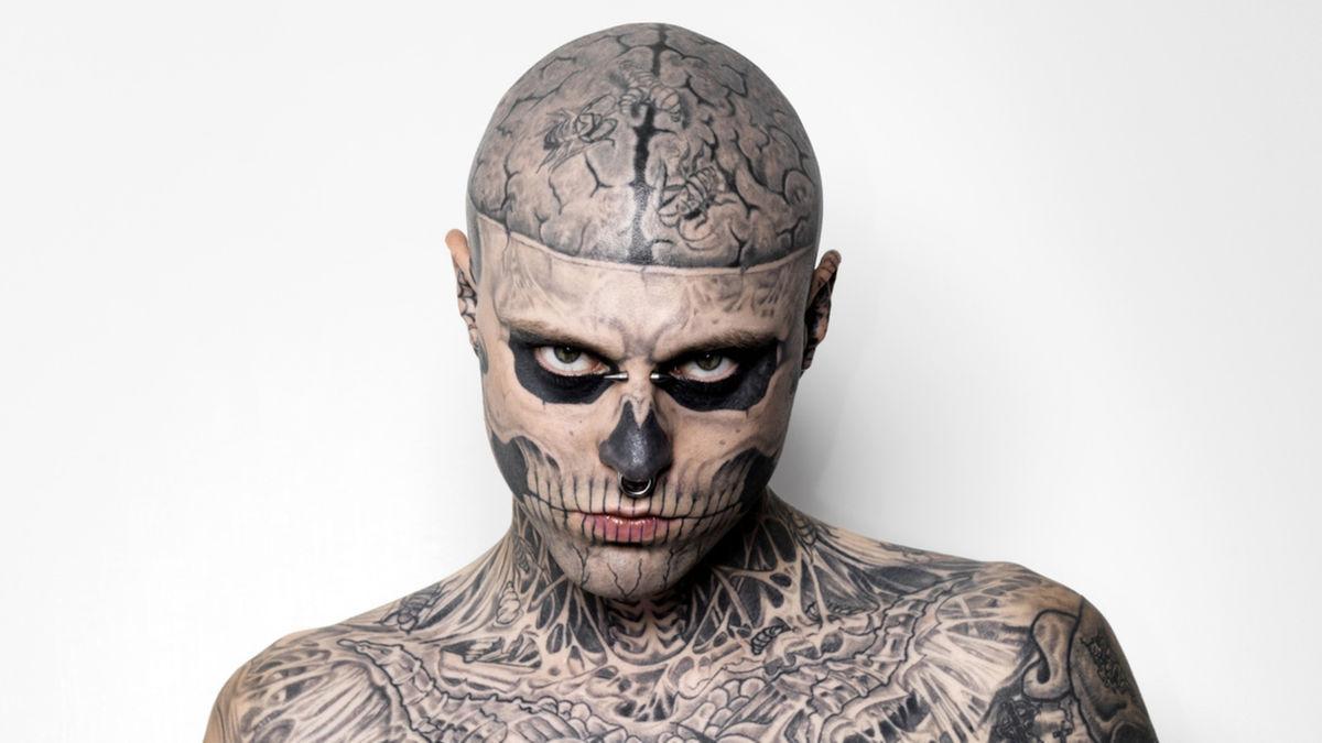 Zombie Boy, le mannequin aux tatouages squelettiques s'est suicidé