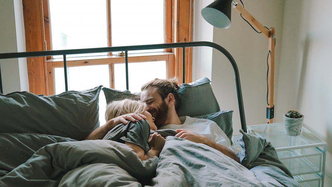 Patient wakker maken met seks
