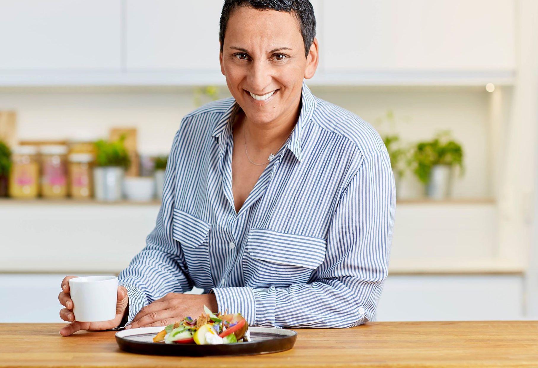 La recette du jour: Isabelle Arpin revisite la classique tomate-mozza