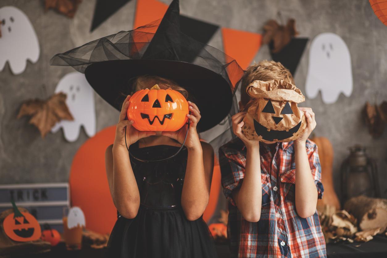 Halloween Schmink Kind.Halloween Hoe Schmink Je Een Kind Als Pompoen Libelle Mama