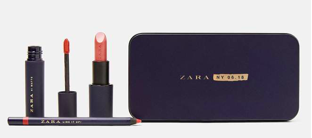 Pour Noël, Zara se lance dans l'univers du make-up