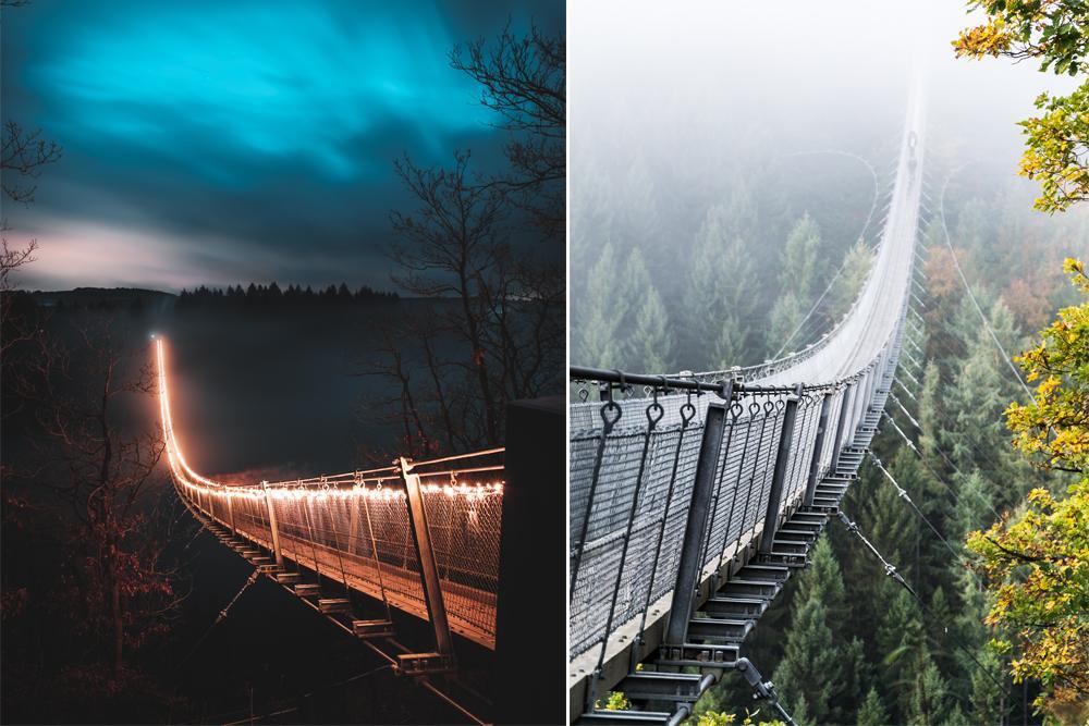 Deze adembenemende hangbrug ontdek je op slechts enkele uurtjes rijden van België