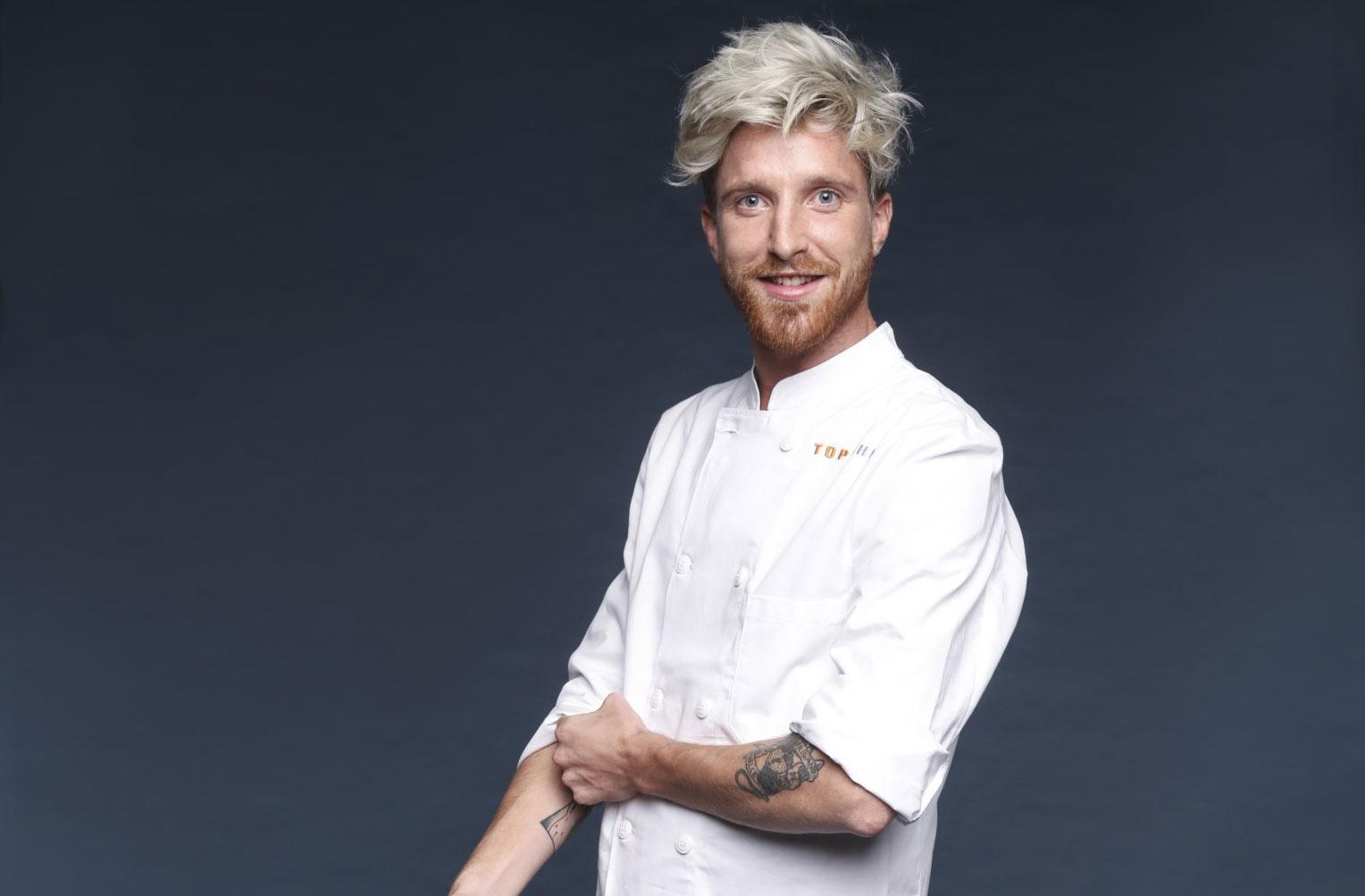 """Top Chef: chaque semaine, retrouvez la recette """"À la sauce belge"""" du candidat belge Paul Delrez!"""