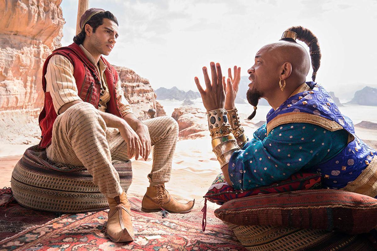 ZIEN: Disney lost nieuwe 'Aladdin'-trailer met eerste beelden van Will Smith als Geest