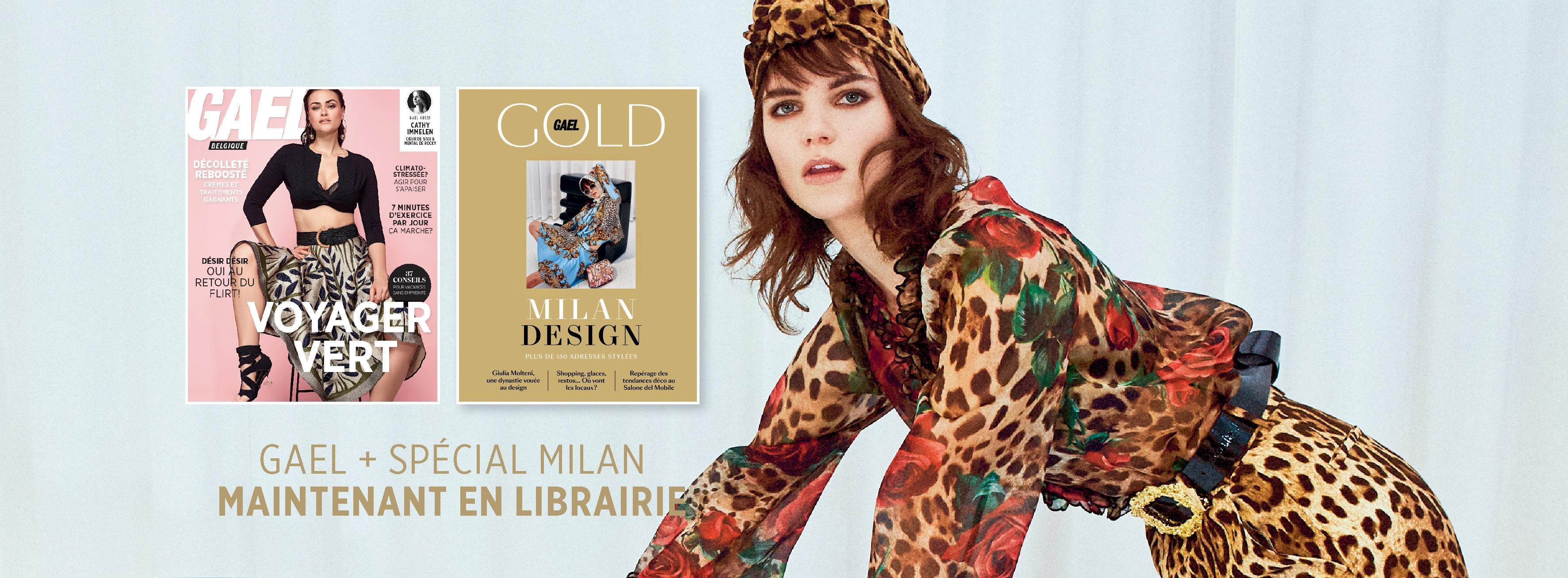 Le GAEL de mai et le GOLD Spécal Milan sont disponible en librairie!