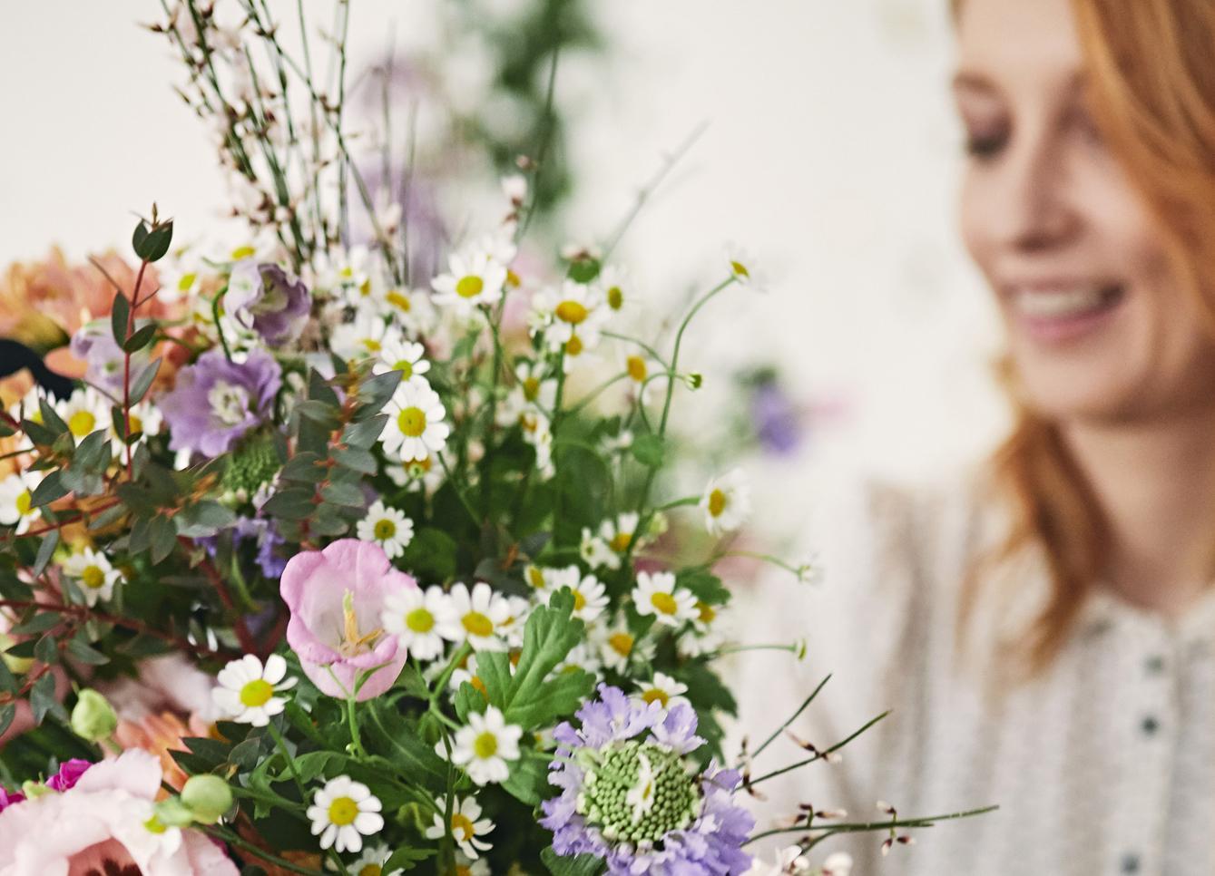 Cathy Immelen: une journée dans la peau d'une fleuriste