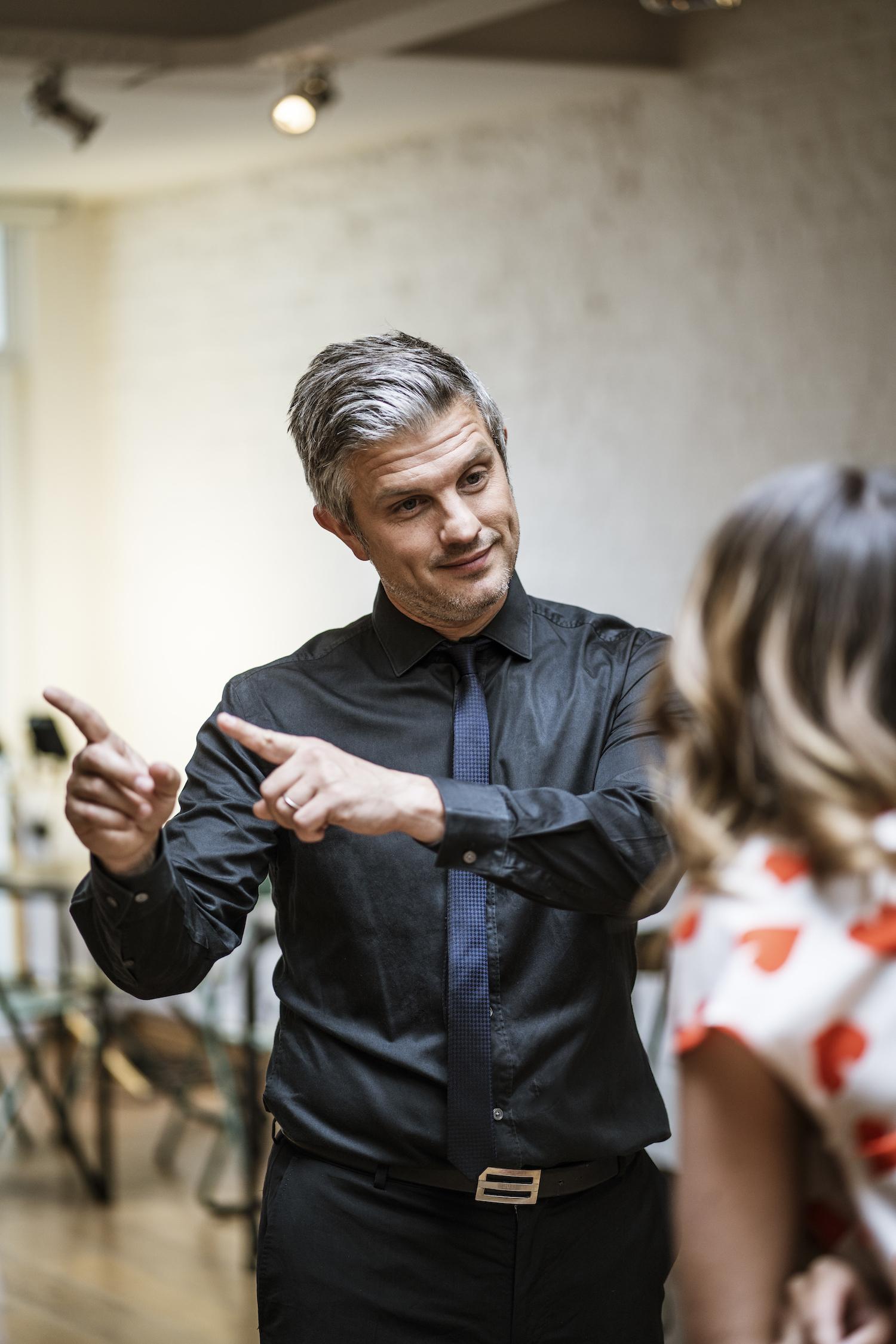 La leçon de tango d'Elodie de Sélys et Benjamin Deceuninck