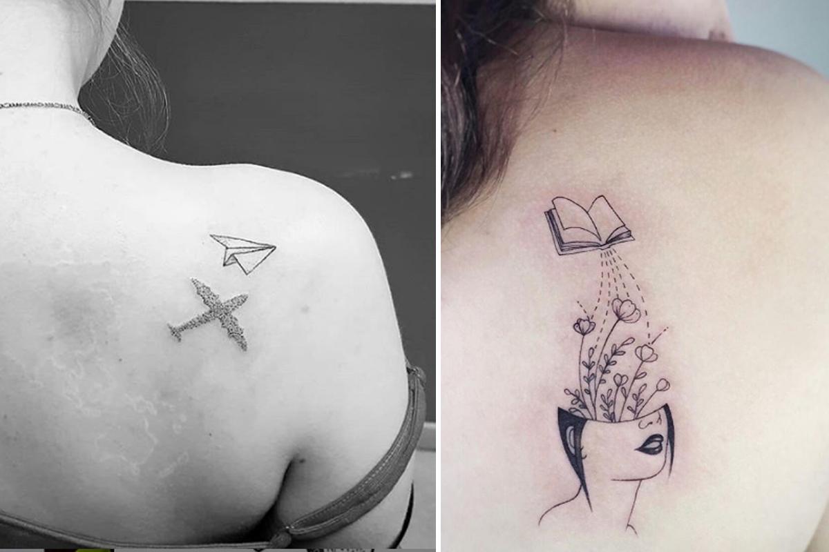 Zien 17 Van De Mooiste Tattoos Voor Op Je Schouder