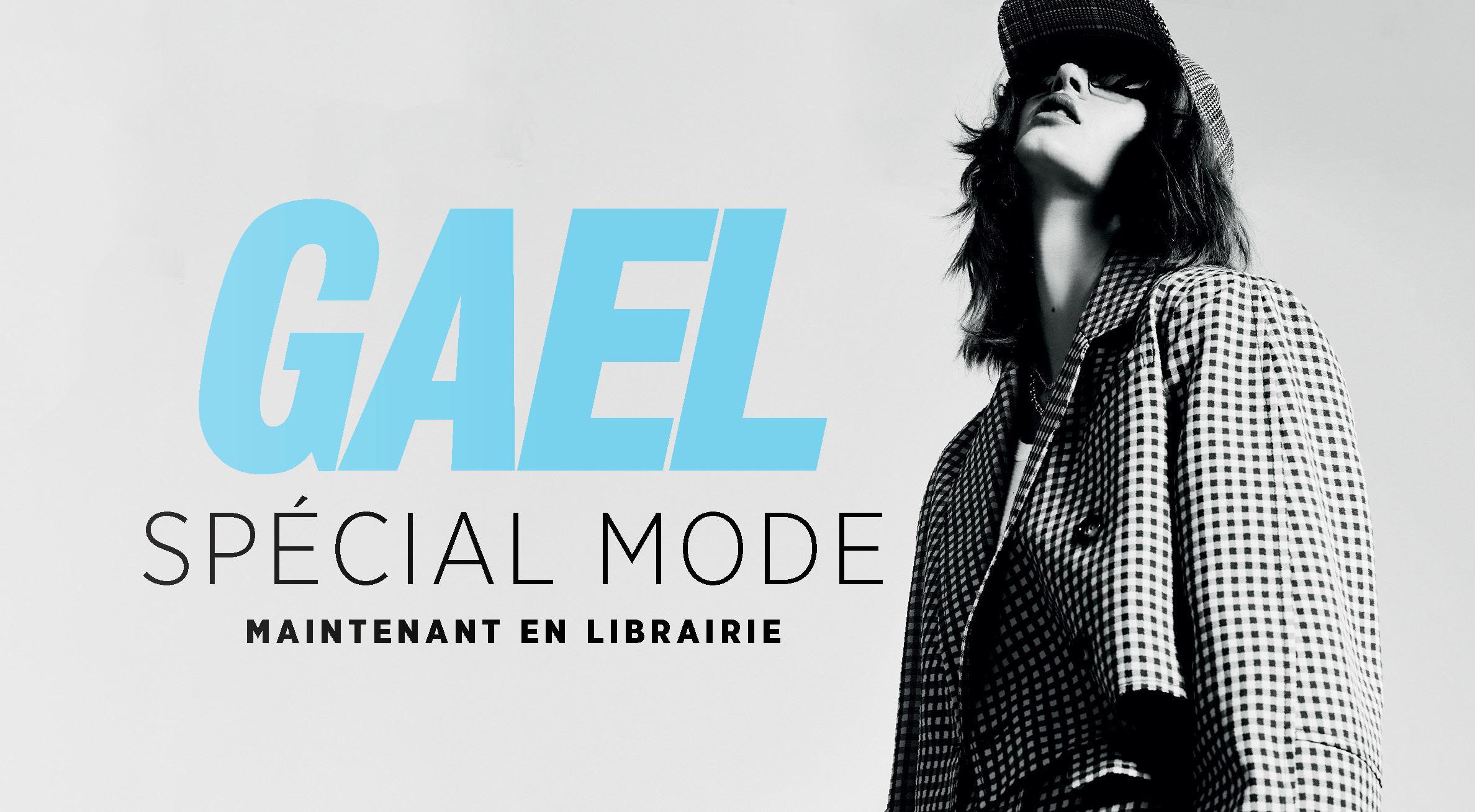 3,2,1, rentrée: le GAEL Spécial mode de septembre est arrivé!