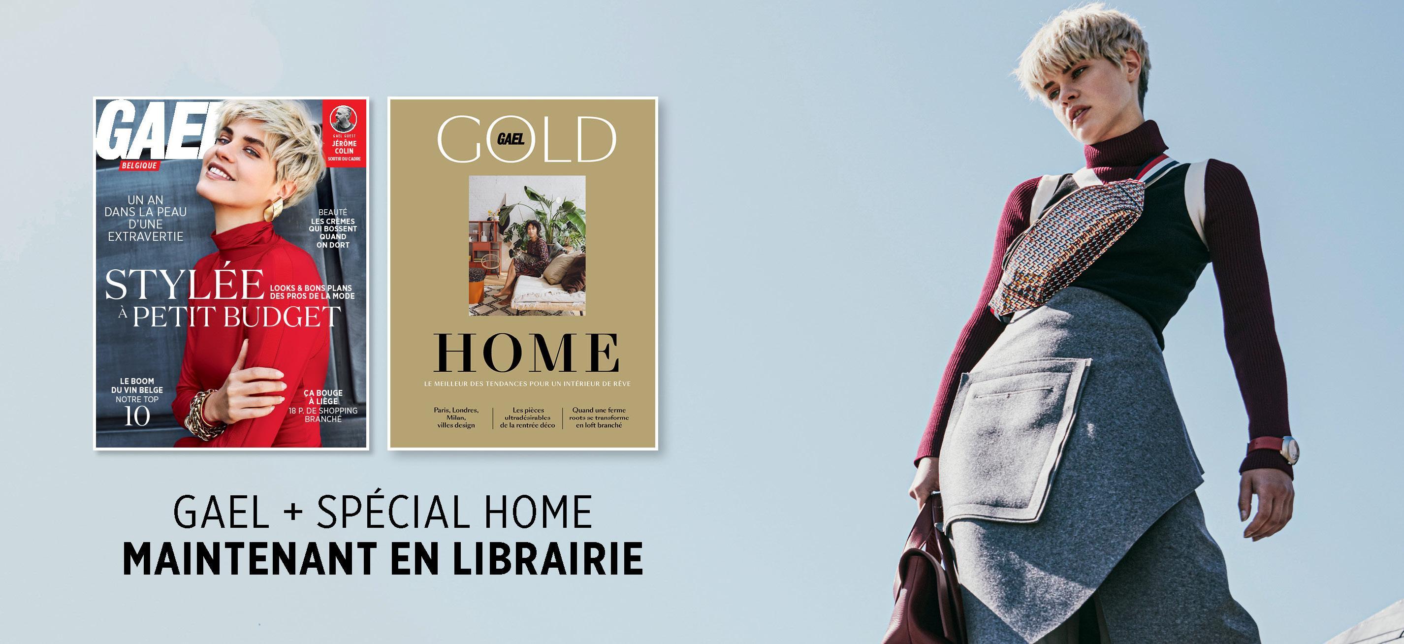 Le GAEL d'octobre et le GOLD spécial Home sont disponibles!