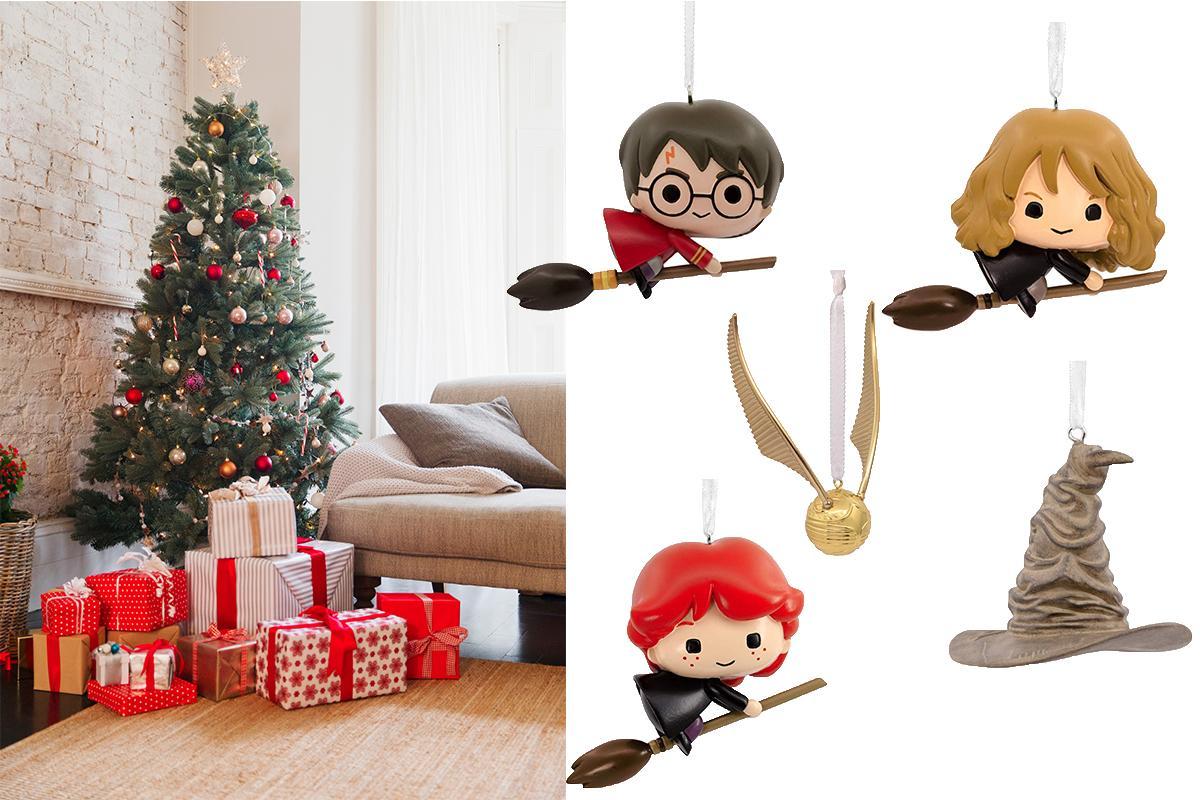 HEBBEN: deze 'Harry Potter'-ornamenten willen wij nú in onze kerstboom hangen