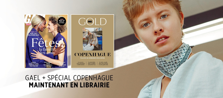 Le GAEL de décembre et le GOLD spécial Copenhague sont disponibles!