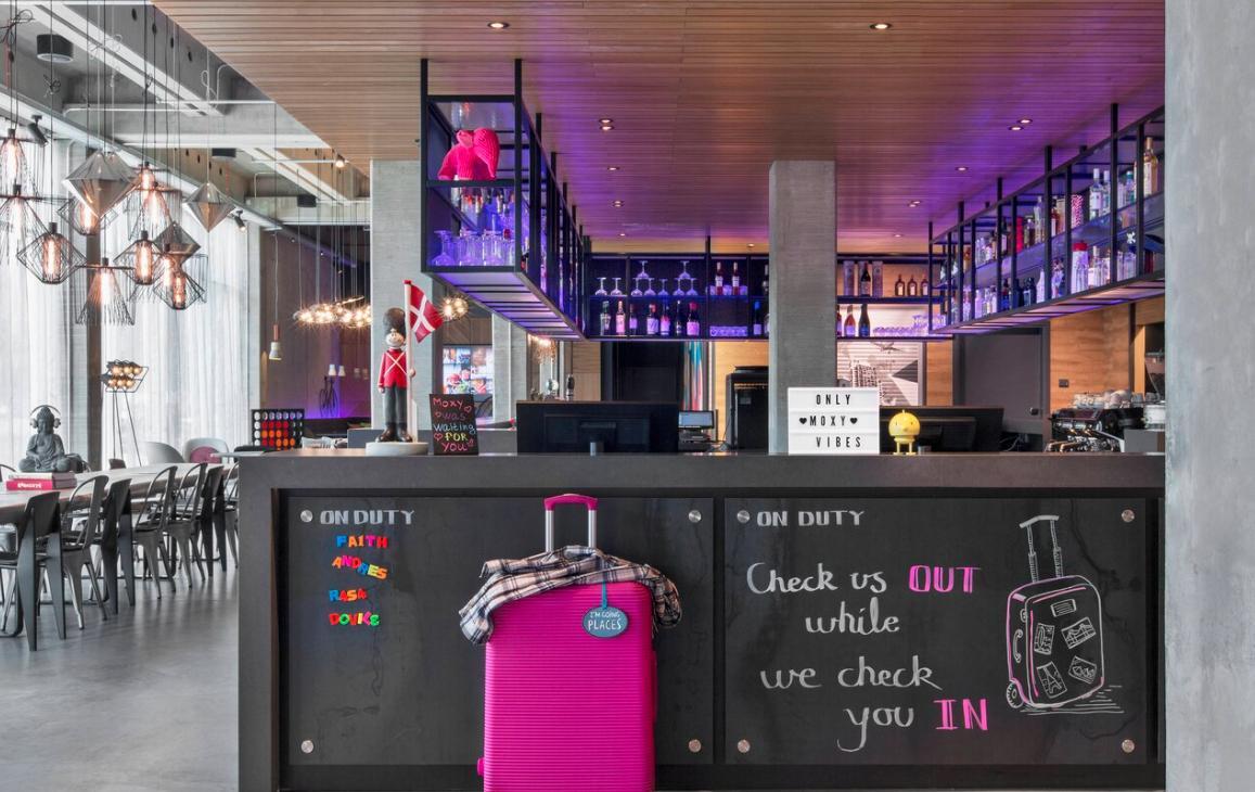 budgetvriendelijke hotels kopenhagen Moxy