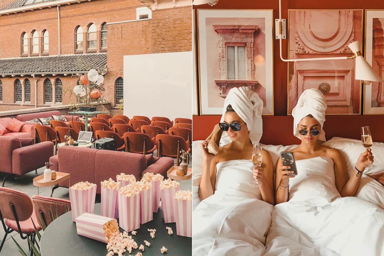 HOTSPOT: dit roze hotel is de perfecte plek voor een girls weekend