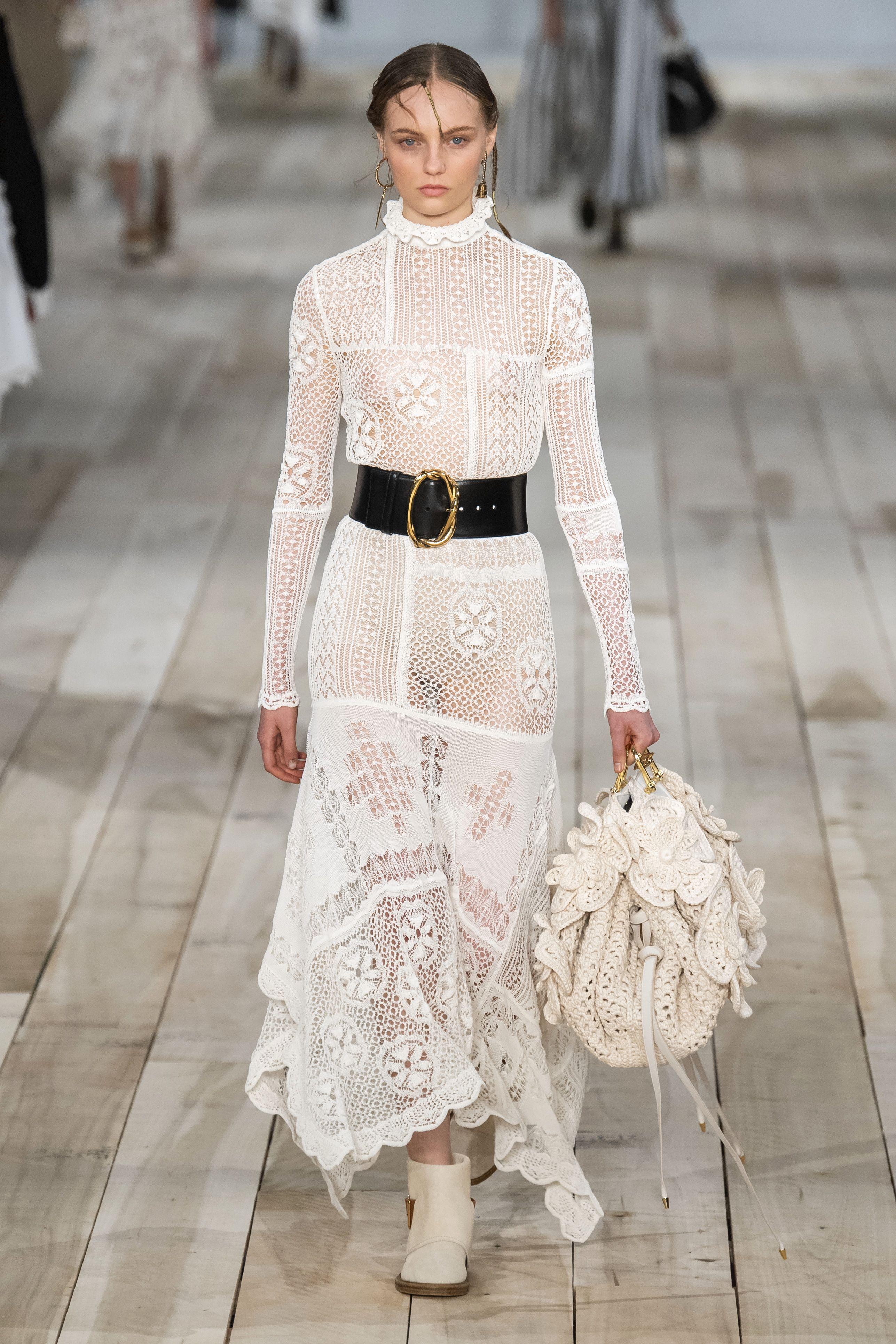 jurk lente Alexander McQueen