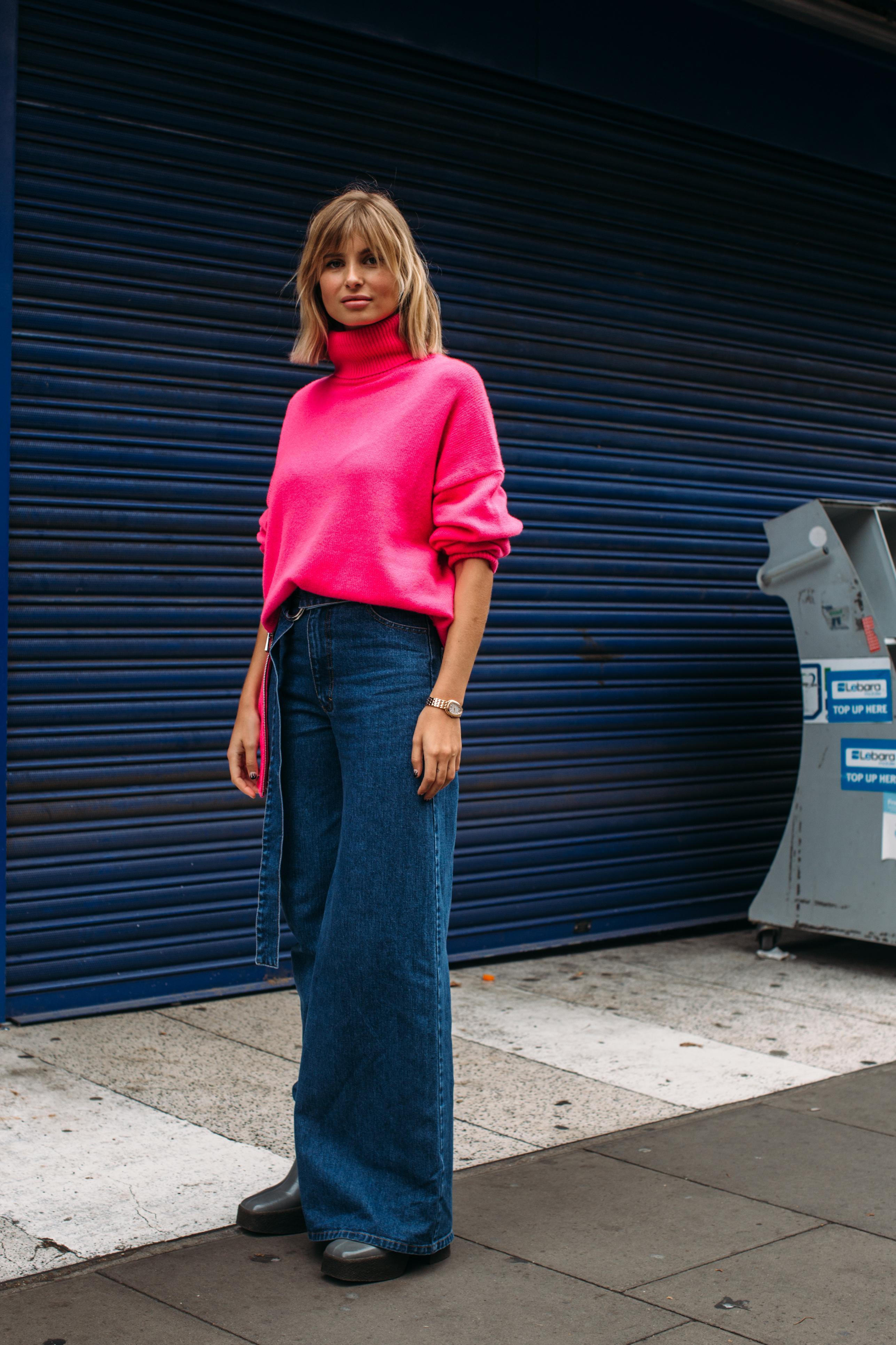 jeans Flare: le retour du pattes d'eph