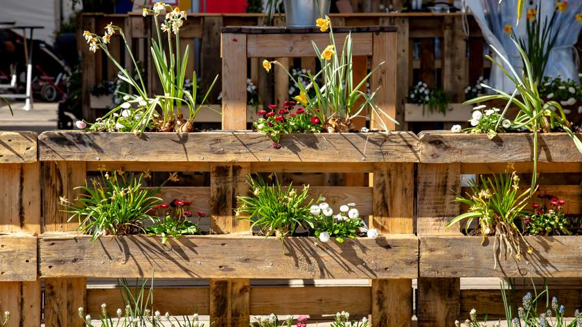Nieuw Inspiratie: fleur je tuin op met houten palletten - Libelle NW-88