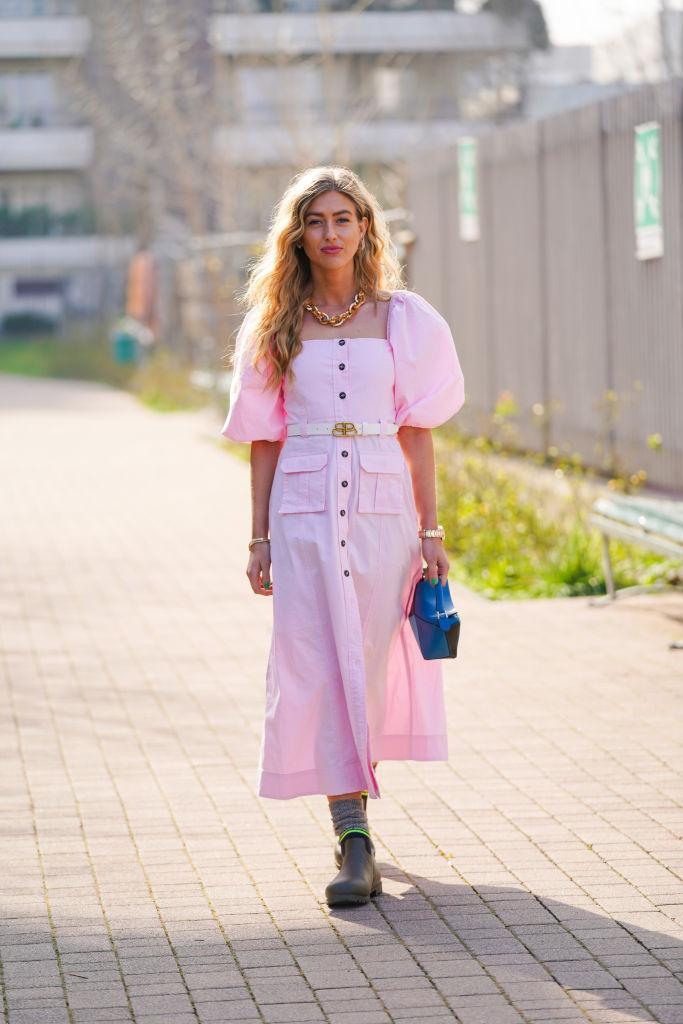 streetstyle trend roze
