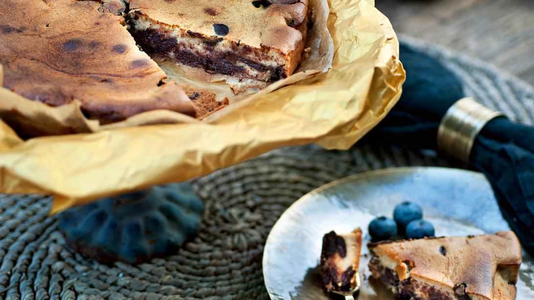chocoladecheesecake pascale naessens bakken