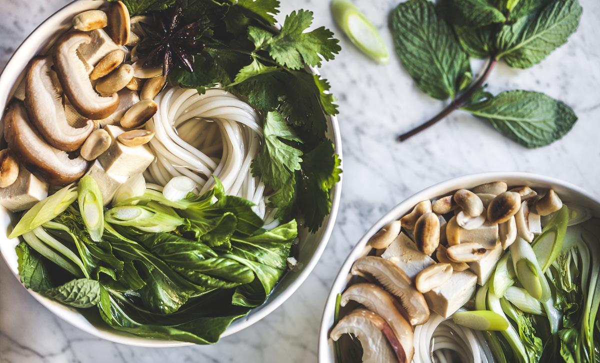 vegan aziatische wok