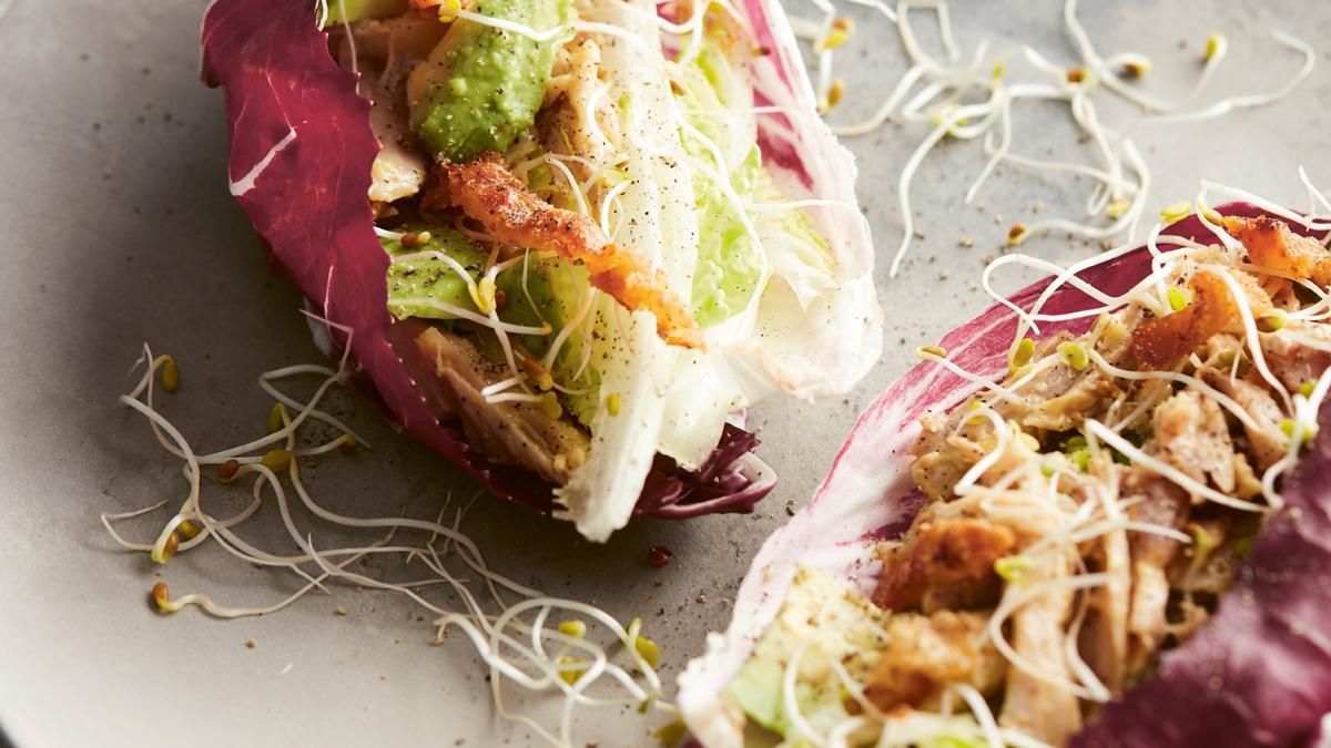 Chicken-Caesar-Wraps