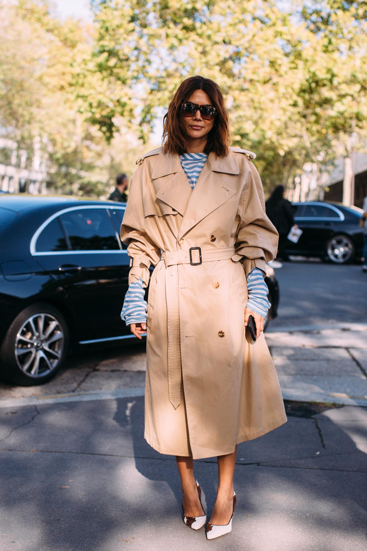 Parisienne trench coat