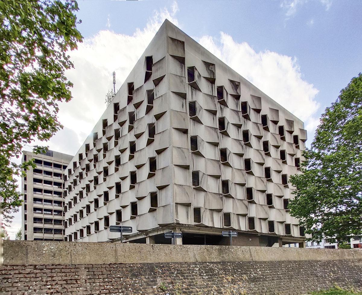 brutalisme architectuurwandeling
