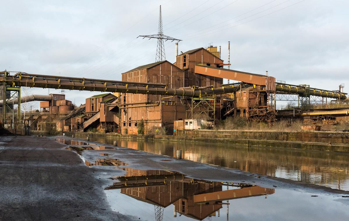 Charleroi staalfabriek
