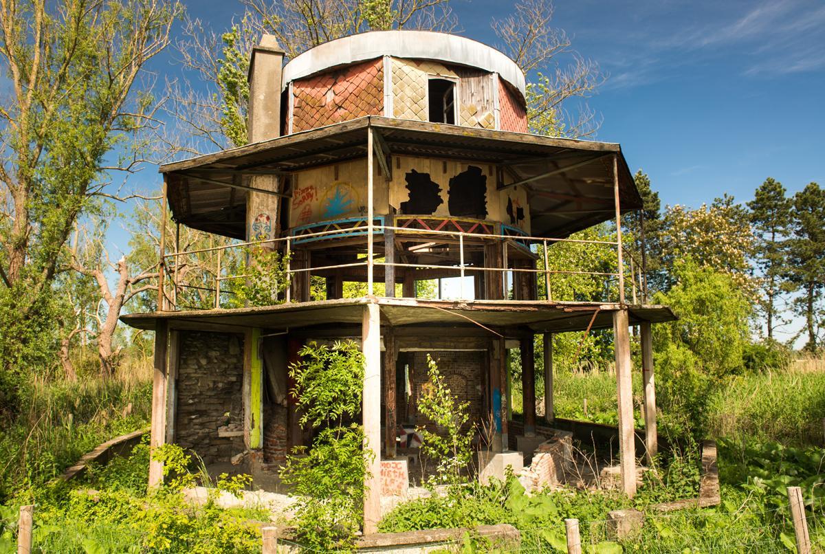 Zweeds paviljoen wandelen op vergeten plekken